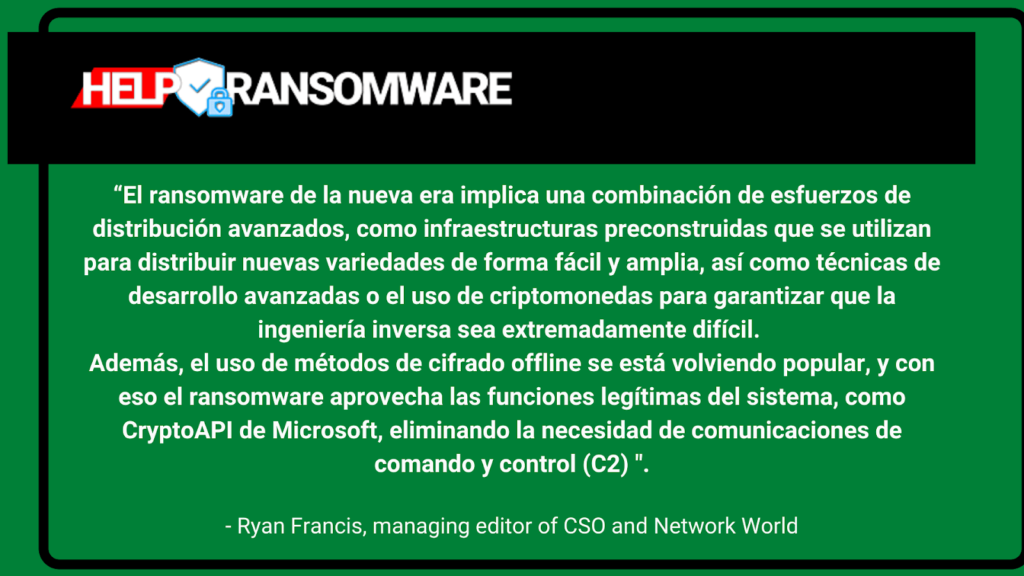 el ransomware de la nuova era helpransomware