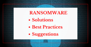 ransomware. solution, best practice, suggestion helpransomware