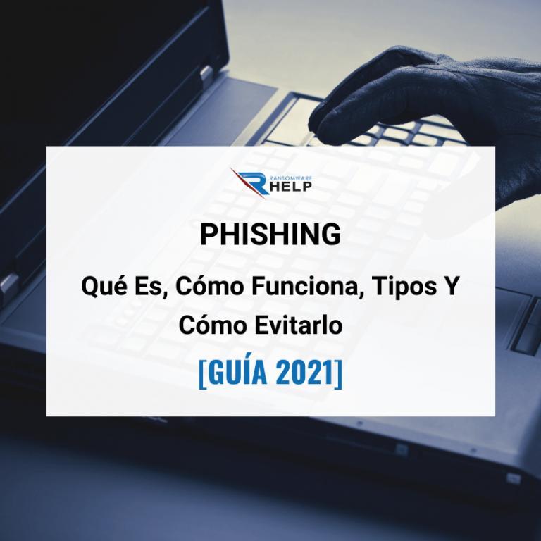 Phishing Qué Es, Cómo Funciona, Tipos Y Cómo Evitarlo [GUÍA 2021] HelpRansomware