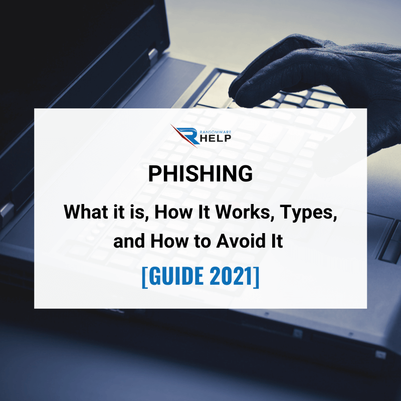 Phishing: What it is, How It Works, Types, and How to Avoid It [GUIDE 2021]