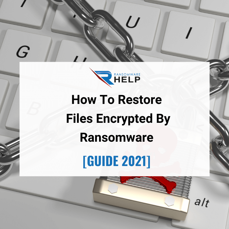 How To Restore Files Encrypted By Ransomware Help Ransomware 2021
