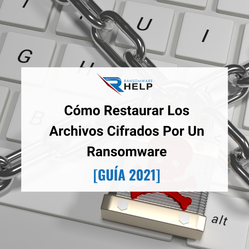 Restaurar Archivos Cifrados. Help Ransomware