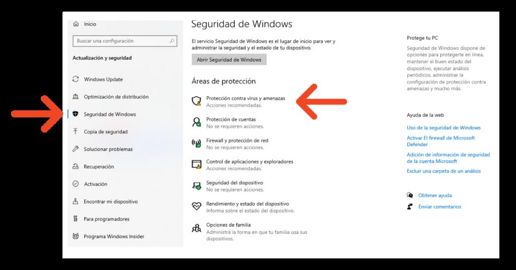 Puede Windows Defender eliminar el malware Protección contra virus y amenazas. Help Ransomware