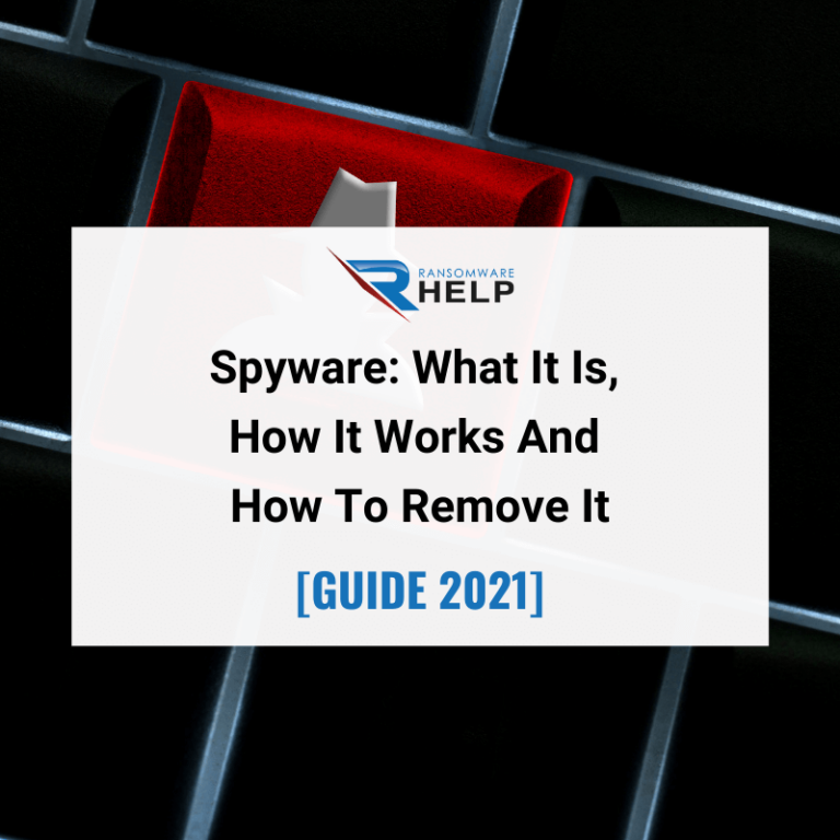 Spyware What It Is, How It Works And How To Remove It Help Ransomware