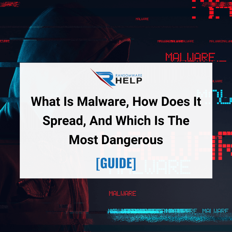 What Is Malware, How Does It Spread, And Which Is The Most Dangerous GUIDE Help Ransomware